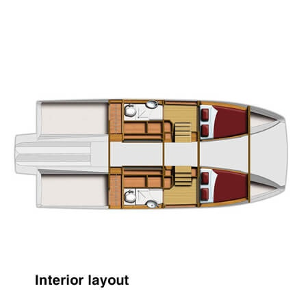 Aquila 36 Interior Layout