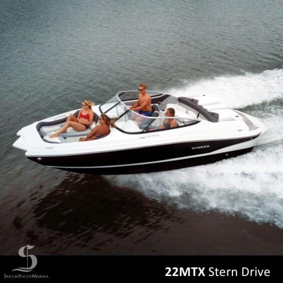 Rinker 22MTX Stern Drive