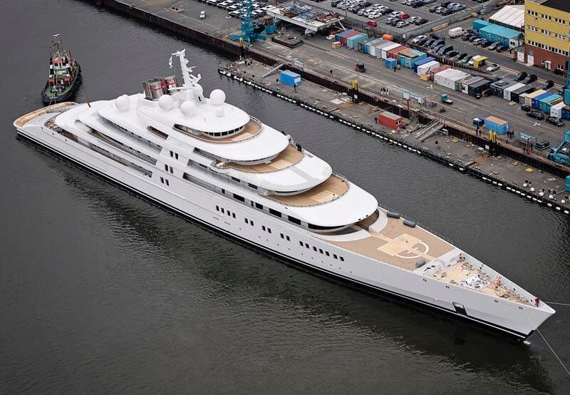 Siêu du thuyền AZZAM nổi tiếng bởi vẻ đẹp bên ngoài đến nội thất bên trong