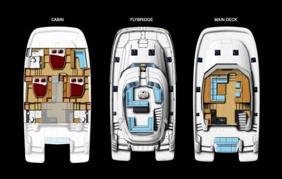 Aquila 44 Living Space