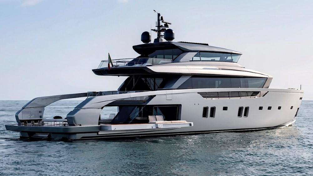 Sanlorenzo SX112 - Dinh thự trên biển