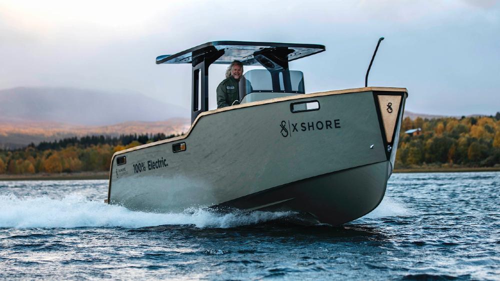 X Shore Eelex 8000 - Chiếc du thuyền nổi bật của Thuỵ Điển