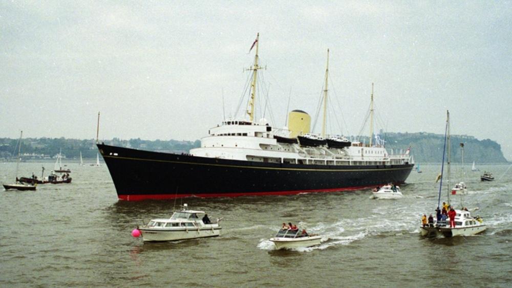 Du thuyền hoàng gia Britannia