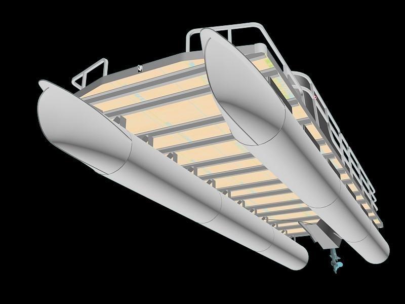 Thân tàu và tính ổn định của Pontoon Boats
