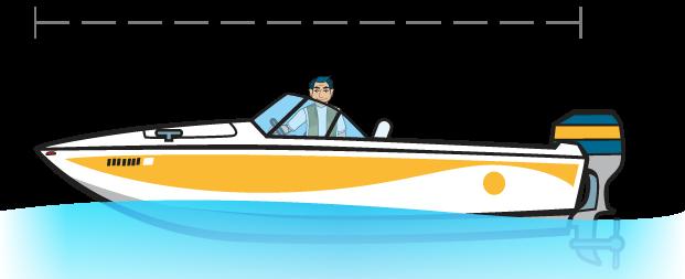 Du thuyền dưới 26 feet